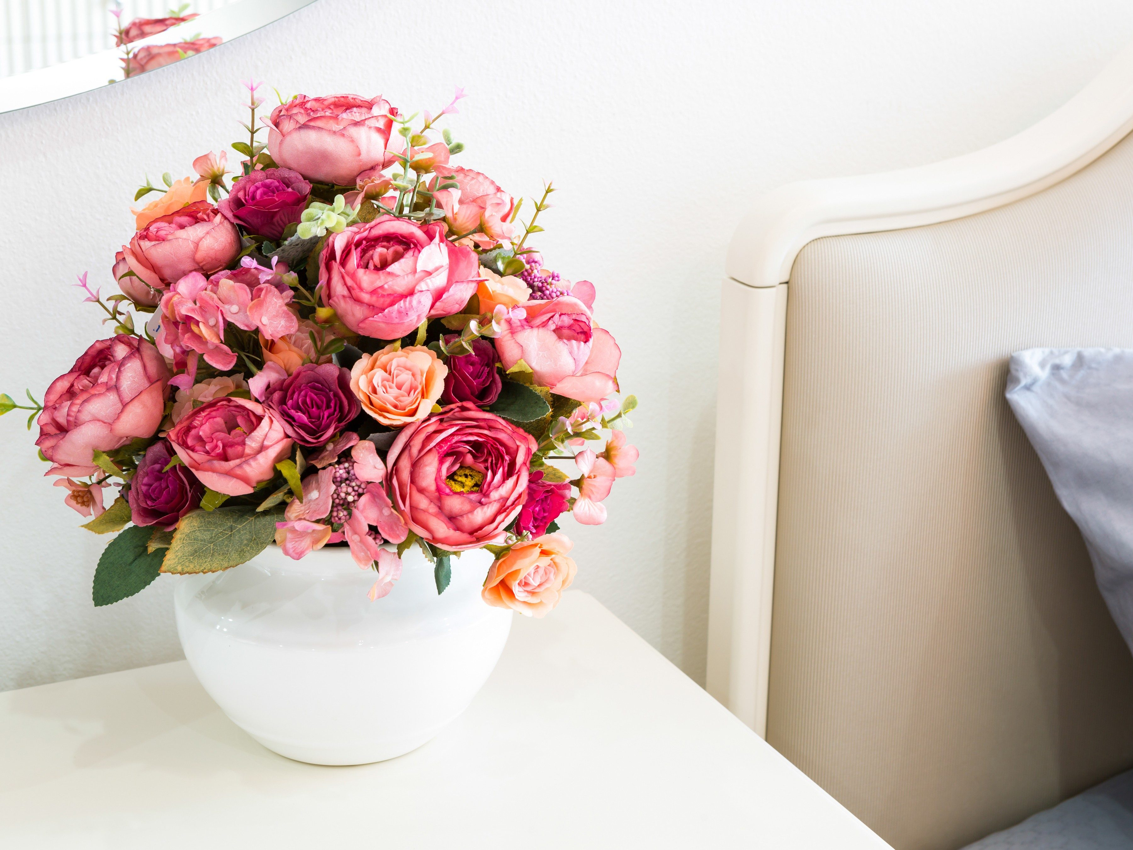 Use a Blow-Dryer to Dust Off Silk Flowers and Artificial Plants