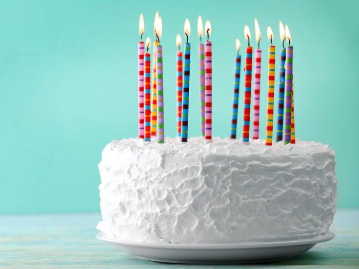 Use Dental Floss to Slice Cake