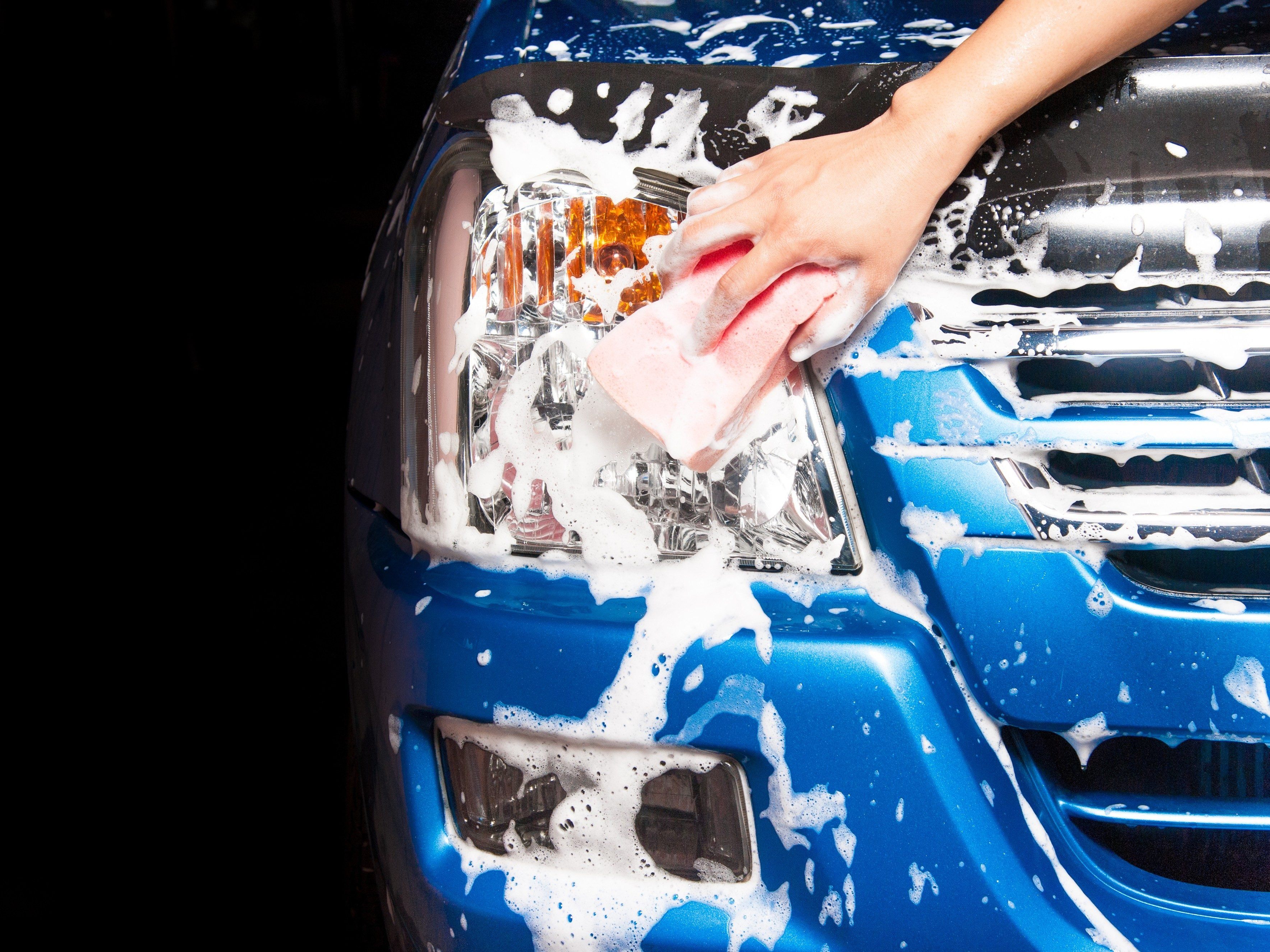 1. Use Shampoo to Wash Your Car