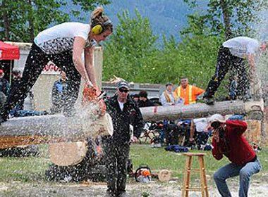 Kaslo May Days, Kootenay Rockies, B.C.