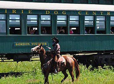 Prairie Dog Great Train Robbery, Man.