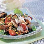 Veal and Mushroom Salad with Basil