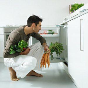 5. Move Your Veggies To The Top Shelf Of The Fridge