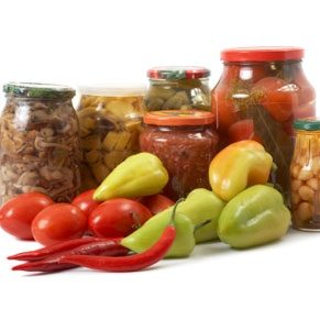 Delicious Preserved Vegetables