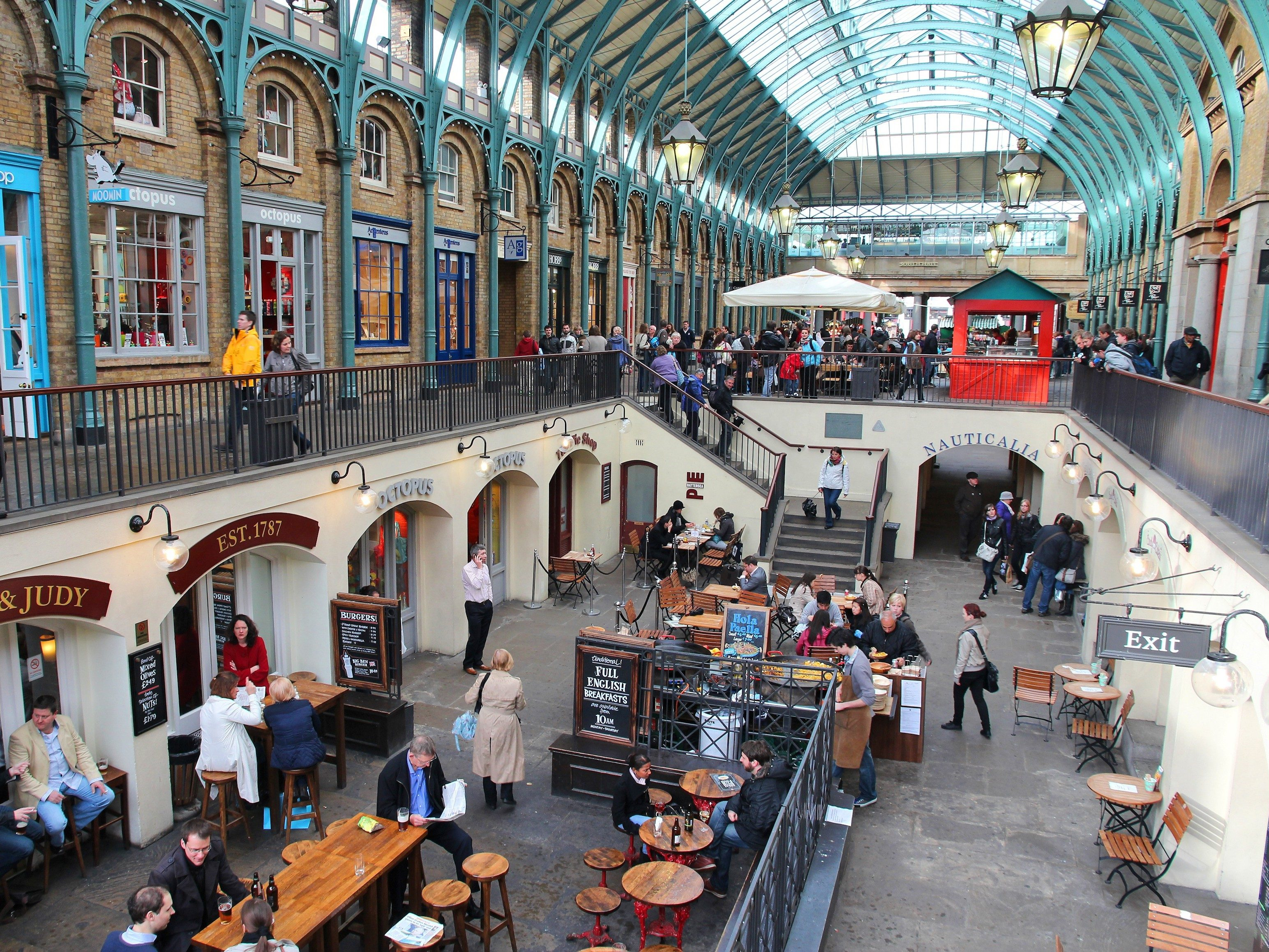 London attractions: Covent Garden