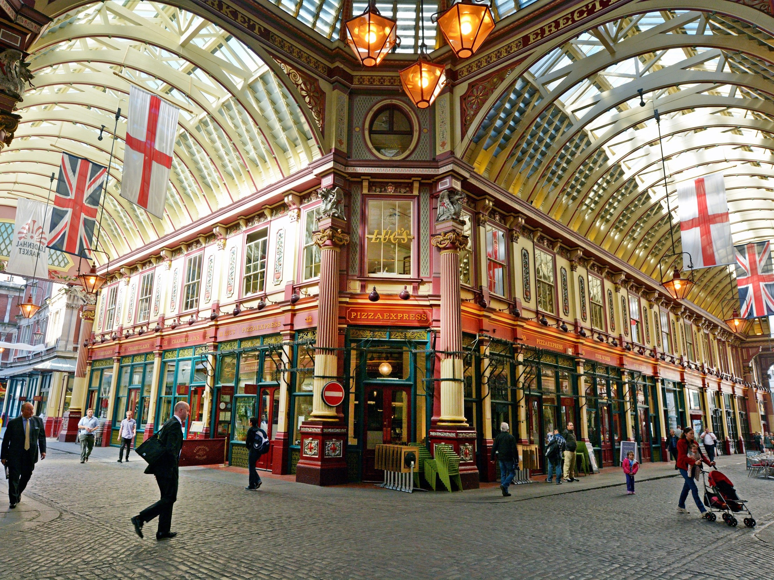 London attractions: Leadenhall Market