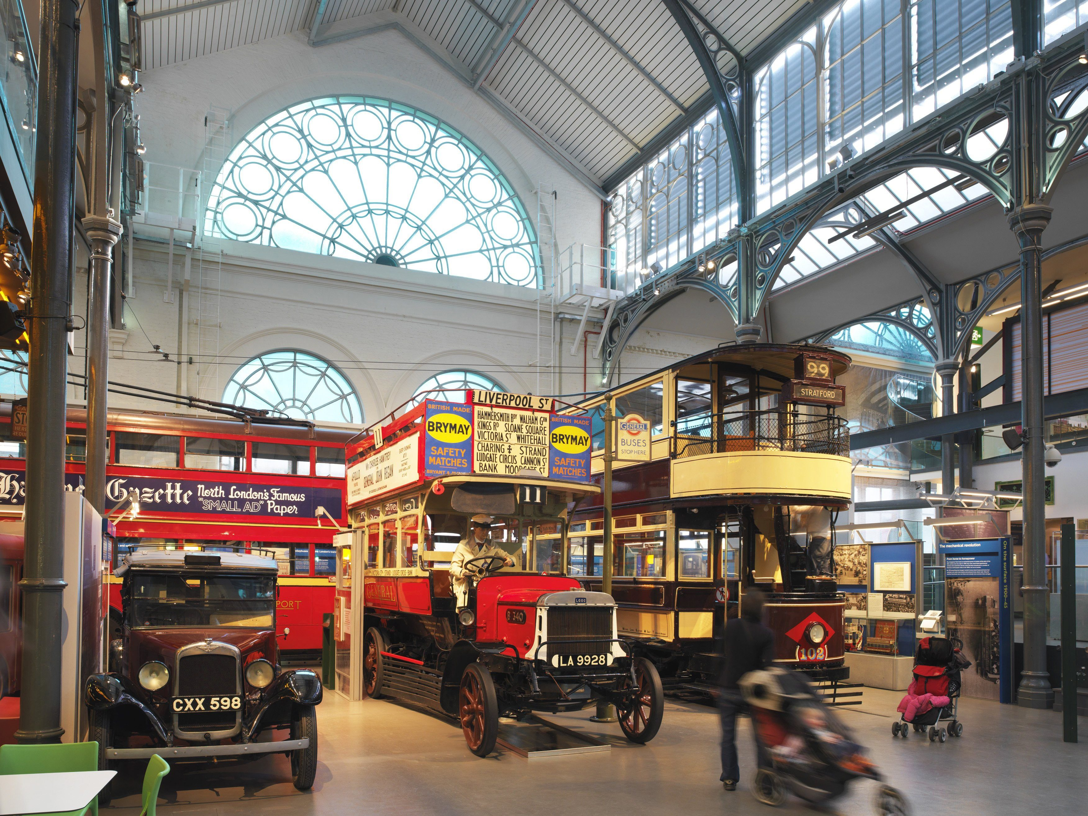 London attractions: London Transport Museum