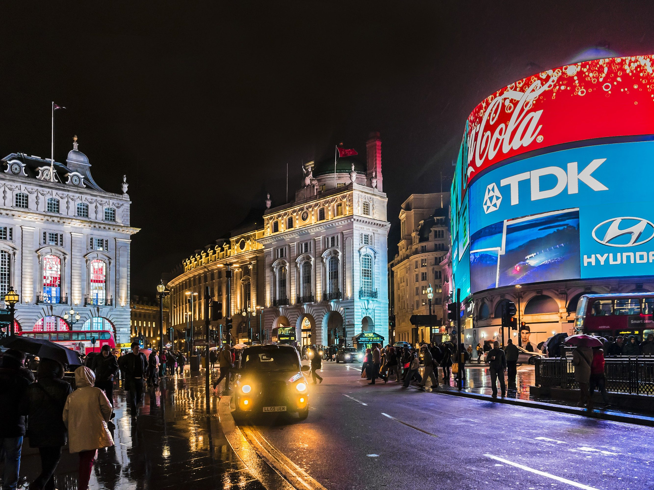 London attractions: Piccadilly Circus