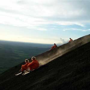4. Volcano Boarding in Nicaragua