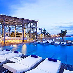 5. W Hotel Barcelona - Barcelona, Spain