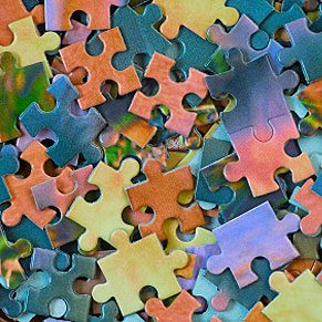 Fun things to do with wallpaper: Make a Jigsaw Puzzle