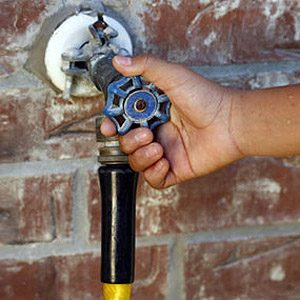 13. Turn Off Your Outside Faucets During Winter