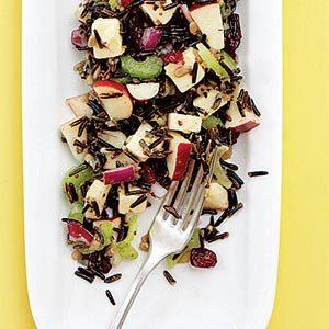 Fall Rice Recipes: Rice Apple Salad