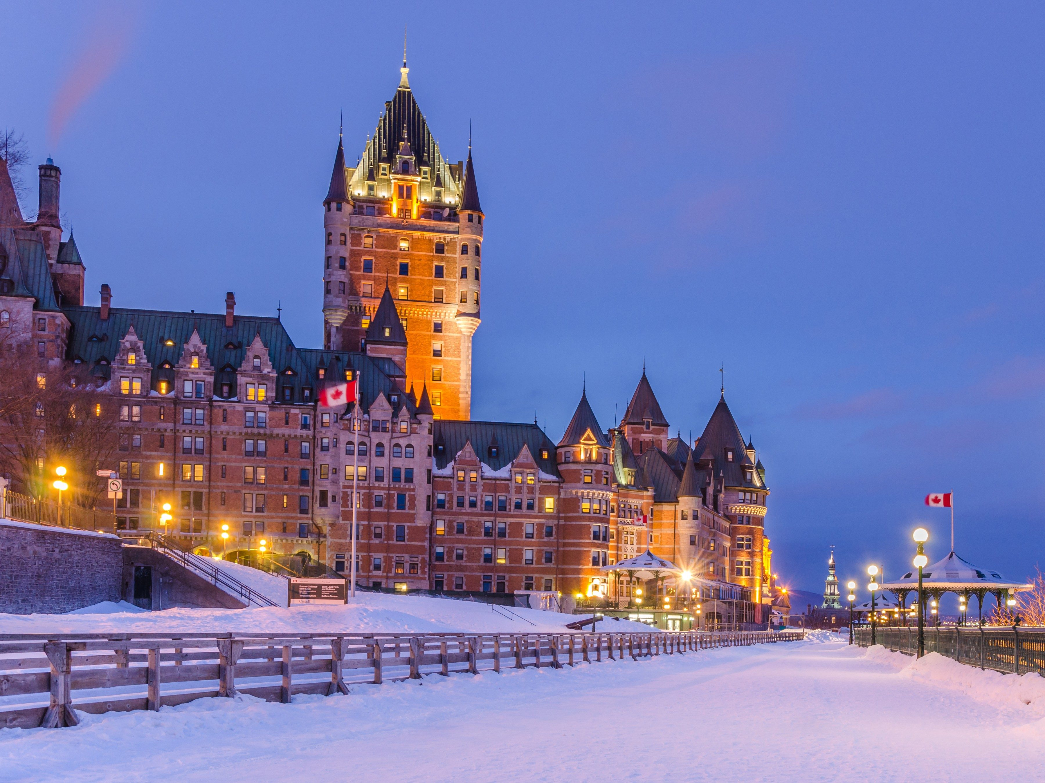 Snowiest Destinations: Quebec City, Quebec