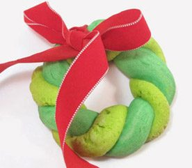 Wreath Christmas Cookies