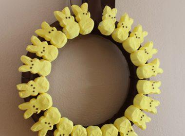 Easter Peeps Wreath