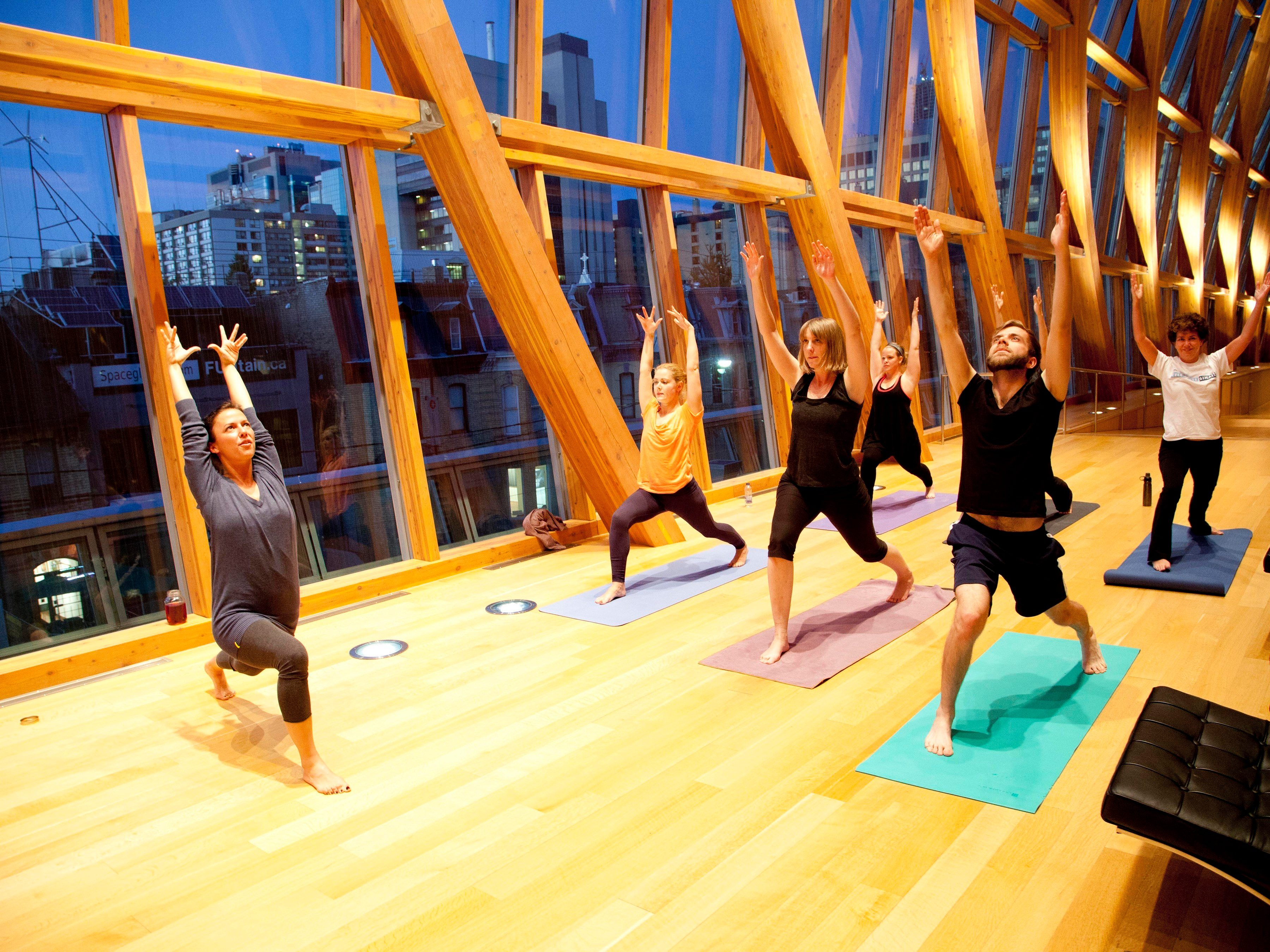 42. Yoga at the AGO