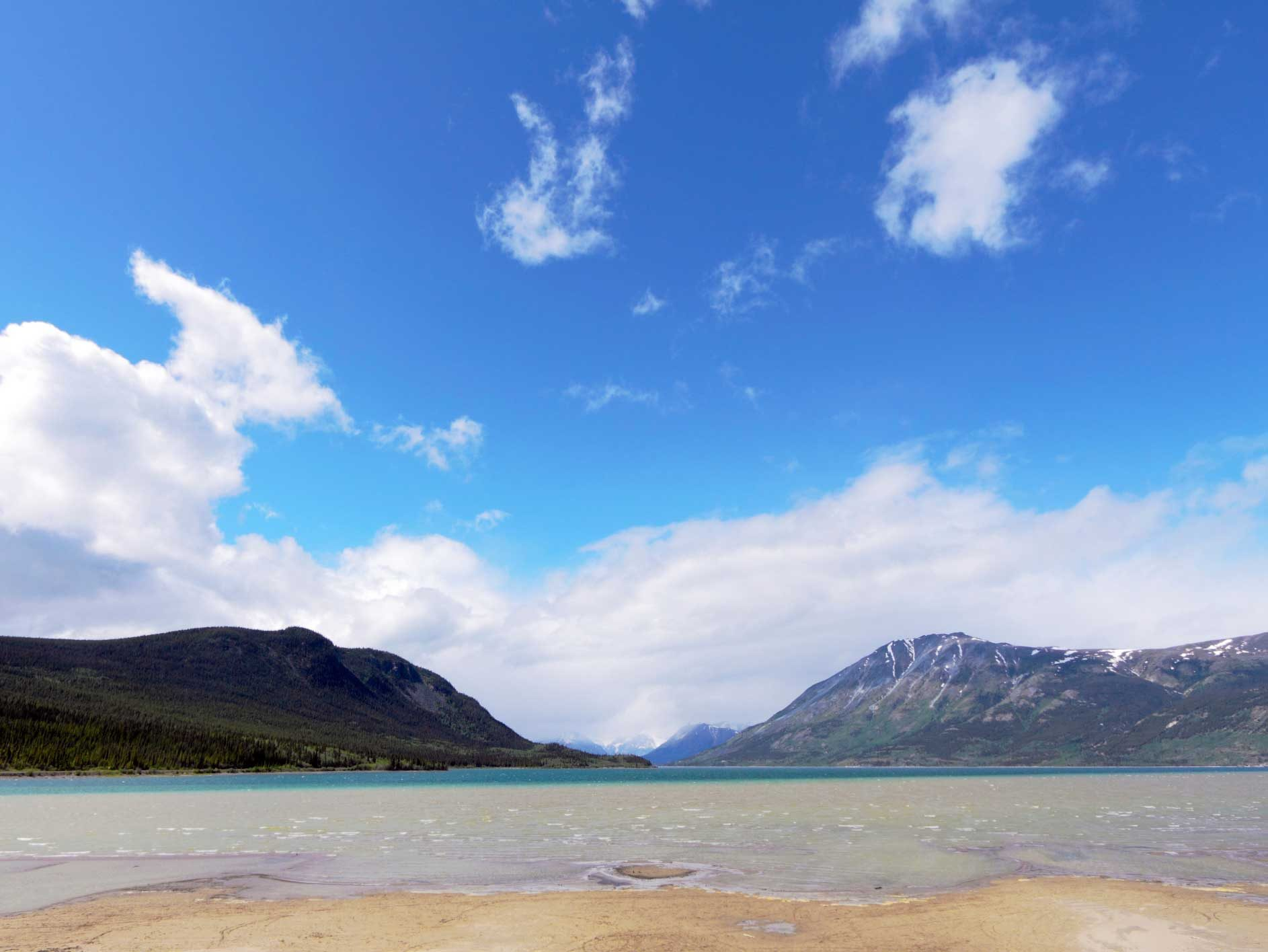 Bennett Beach, Yukon