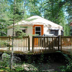 9. Yurts