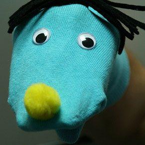 5. Make a Sock Puppet