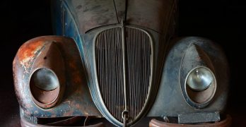 Old clunker car