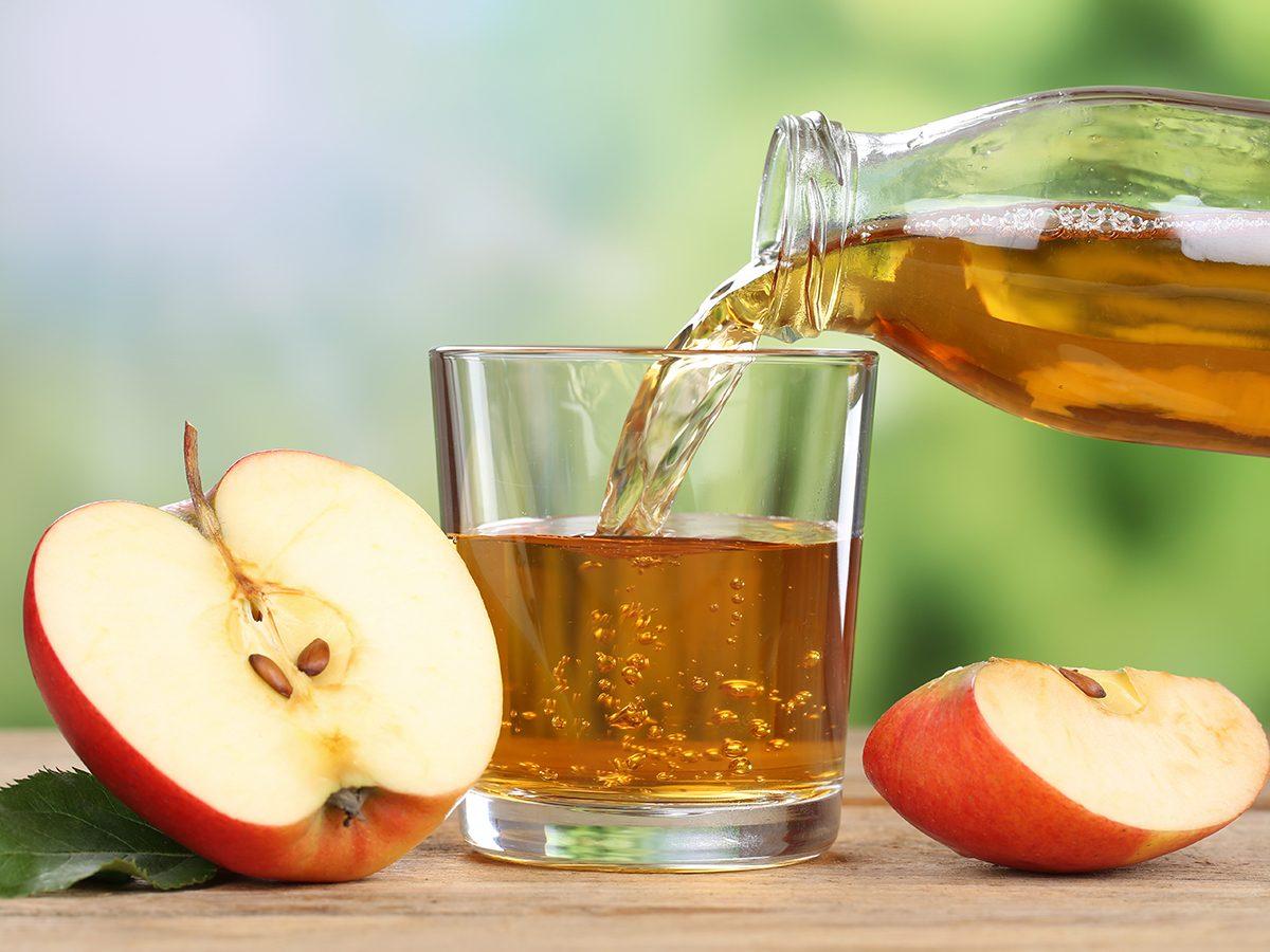 Apple benefits - apple juice