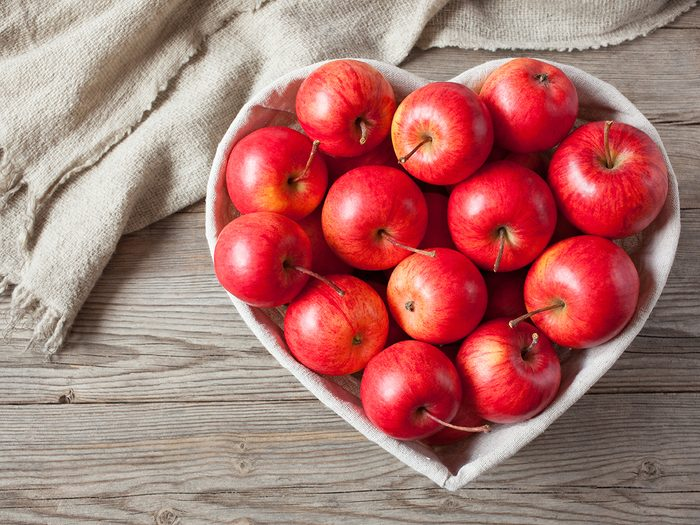 Apple benefits - apples can protect your heart
