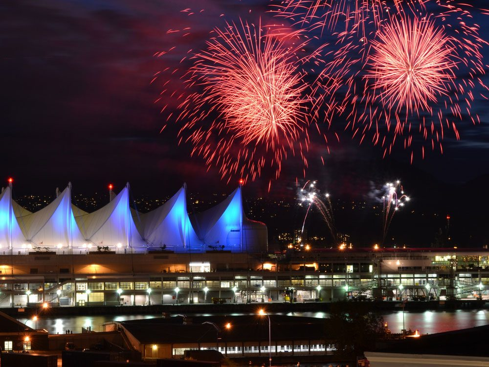 Canada Day at Canada Place, Vancouver