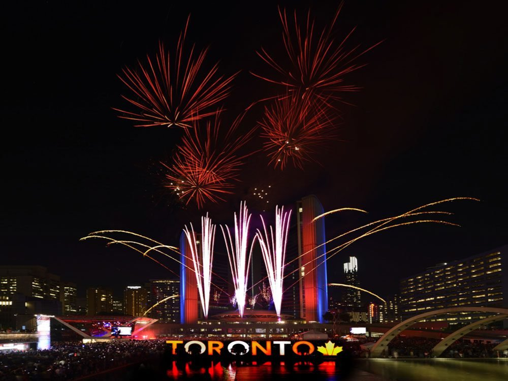 Canada Day 2017 at Nathan Phillips Square