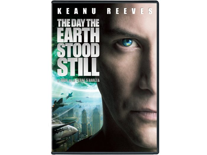 DVD case for the remake of The Day the Earth Stood Still