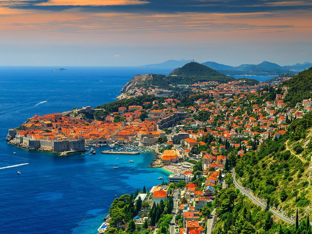 Dalmatian Coast at Dubrovnik