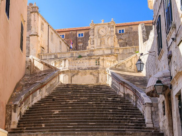 """The famous """"Walk of Shame"""" staircase from Game of Thrones"""