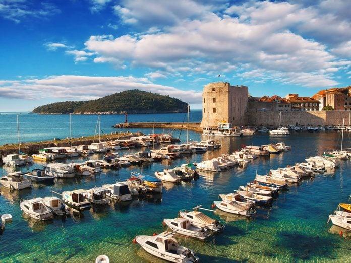 Dubrovnik's Old Town Pier