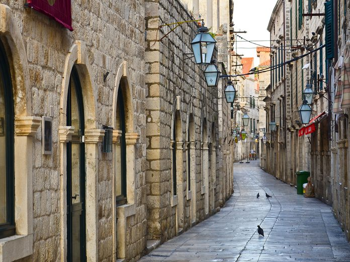 Old Town Streets in Dubrovnik