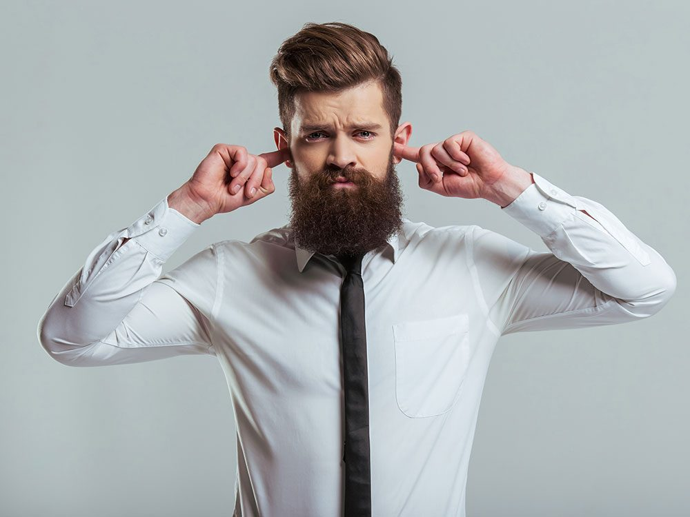 Get rid of hiccups by plugging your ears
