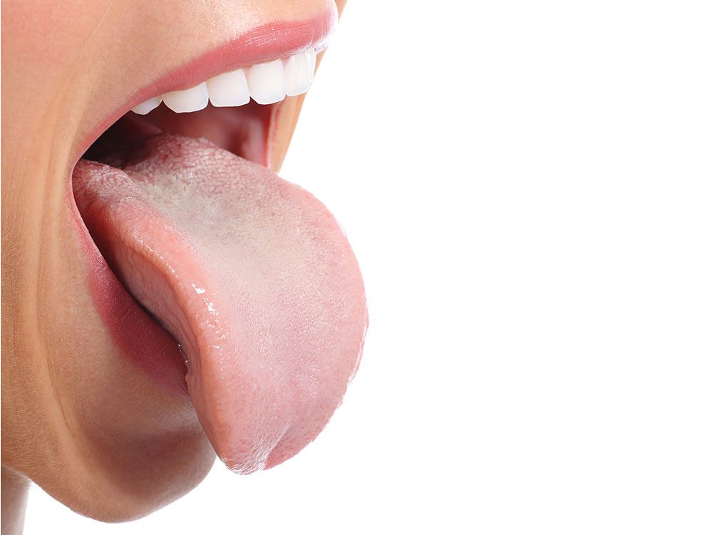 Get rid of hiccups by sticking out your tongue