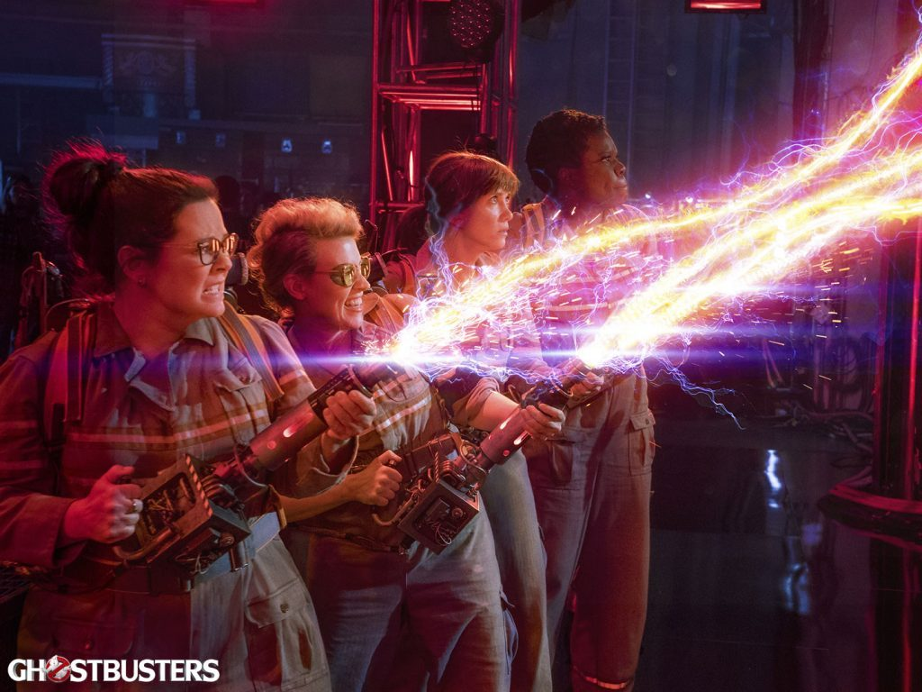 Cast of Ghostbusters (2016)