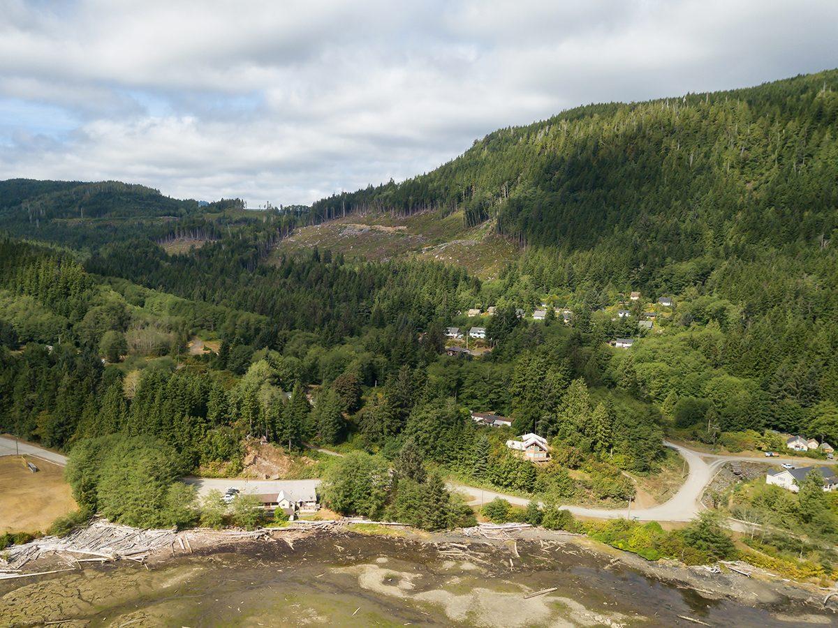 Holberg on Vancouver Island, B.C.