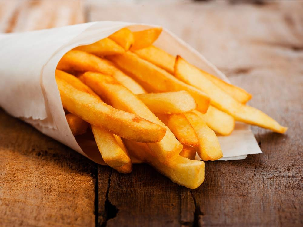 Most of the world's French fries are made in Canada