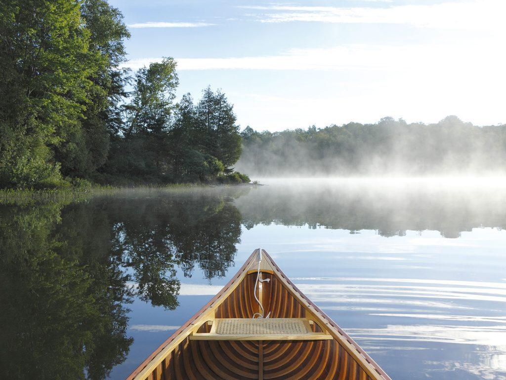 Canoeing in Haliburton, Muskokas