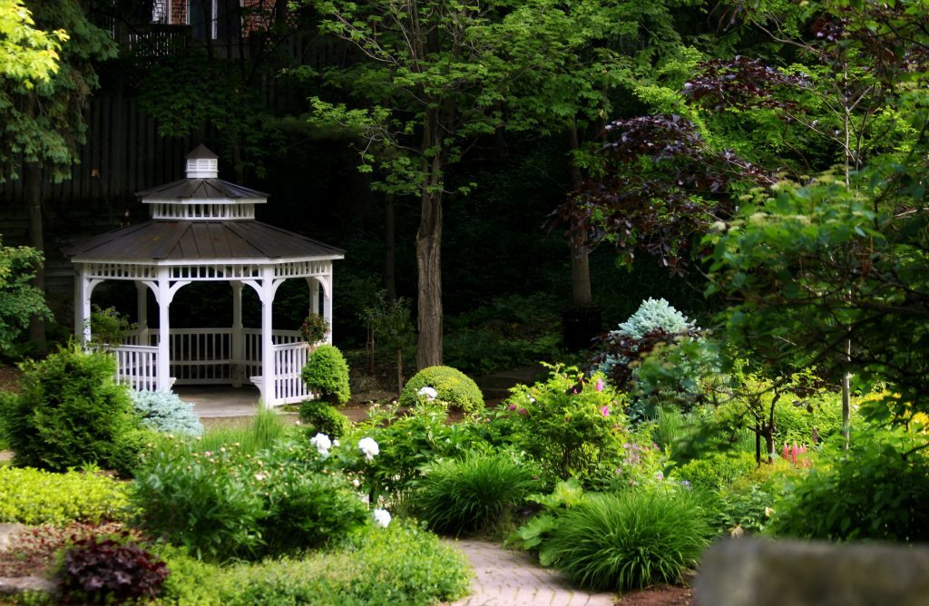 This beautiful garden is at Riverside Park in Guelph, Ontario