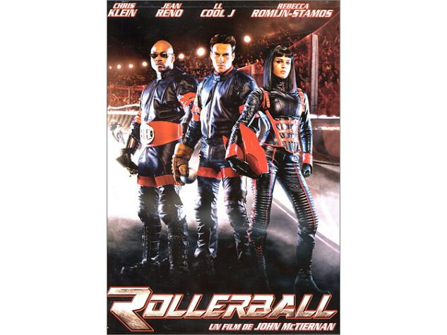 DVD case for Rollerball