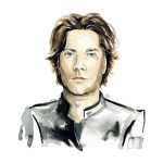 Illustration of Rufus Wainwright