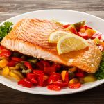 Barbecued Fish Steaks with Salsa