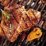 Steak with Capsicum and Caper Relish