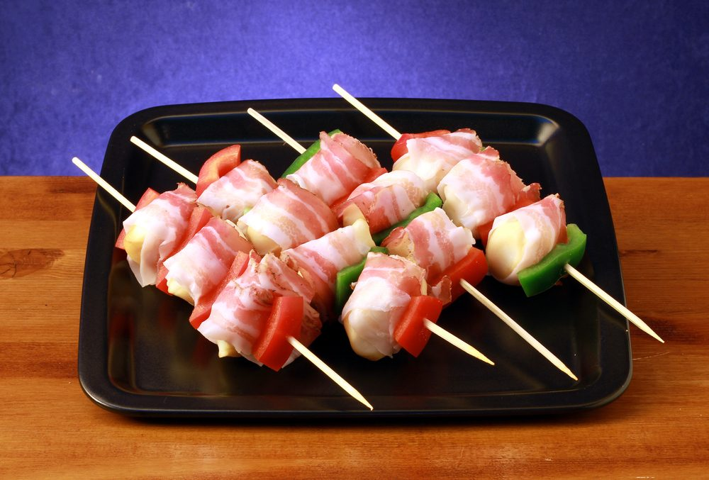 Bacon and fish kebabs reader 39 s digest for Fishing with bacon