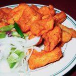 Tandoori Fish With Mint Relish