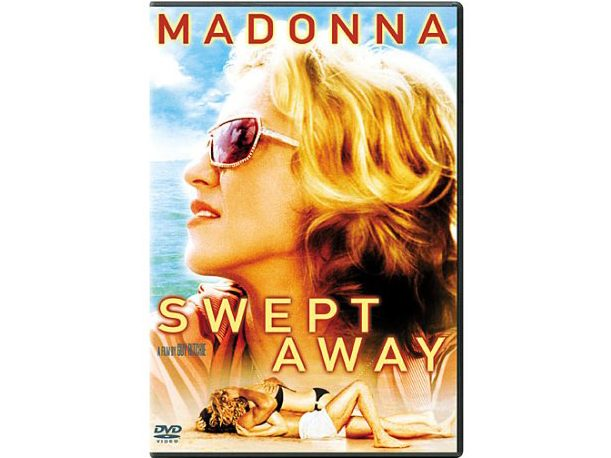 DVD case for Swept Away