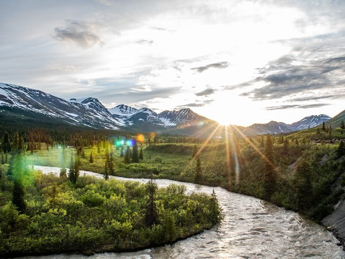Worst places in Canada for mosquitoes - Yukon river valley