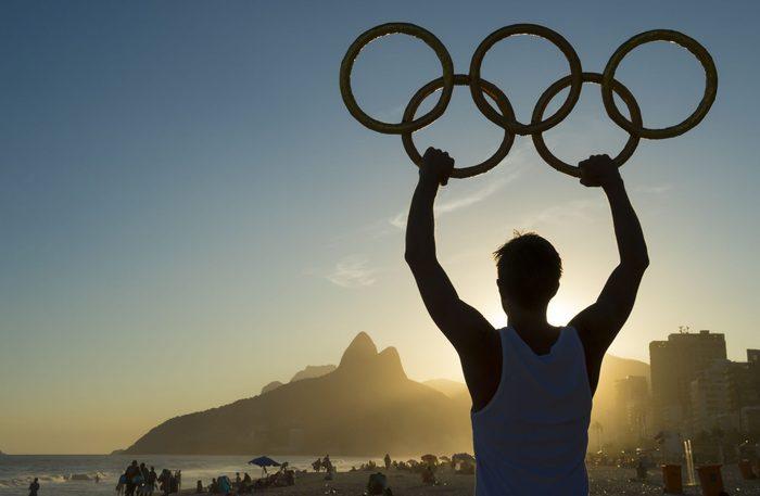 Athlete preparing for Rio 2016 Olympics